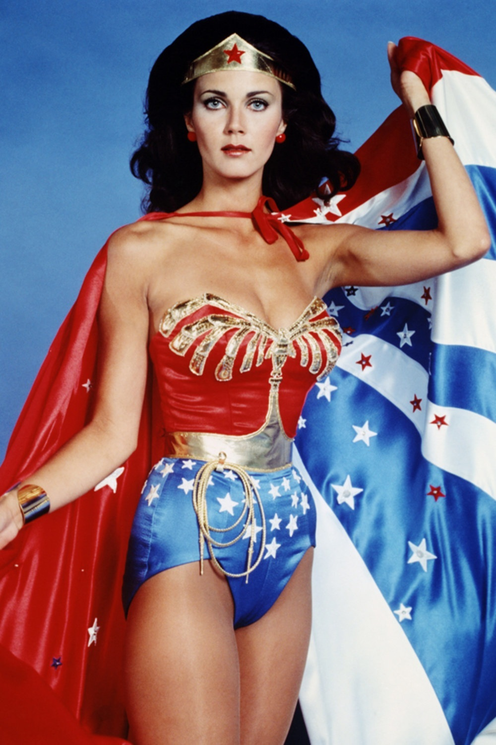 Lynda Carter As Wonder Woman Miss World