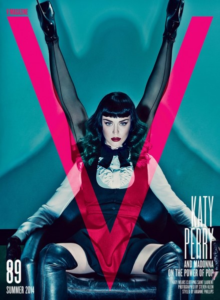 Pictures Madonna Magazine Katy Perry