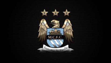 Manchester City Black Wallpaper Wallpaper