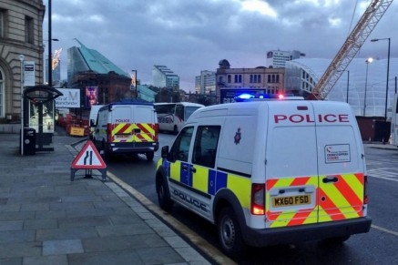 Shopper Discovers Body In Bush In Busy Manchester City Centre Body