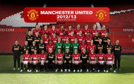 Manchester United Team Photo Vz Mdheo