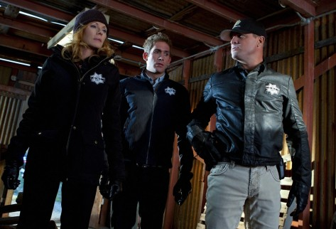 Picture Of Marg Helgenberger George Eads And Eric Szmanda In Csi Crime Scene Investigation Large Picture And Jorja Fox