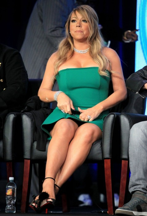 Mariah Carey At Fox Winter Tca Tour In Pasadena