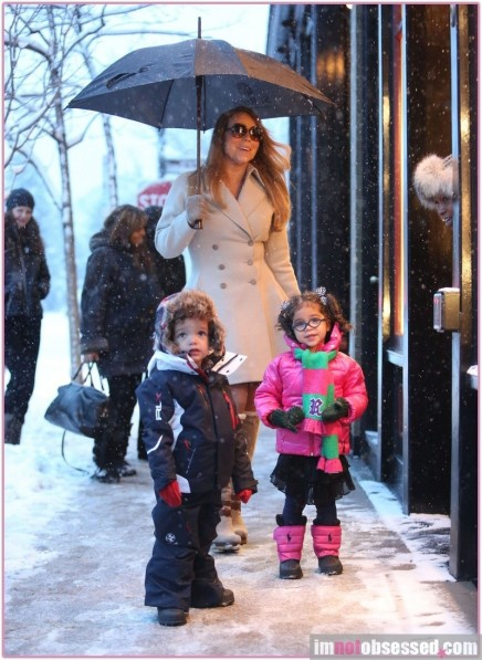 Mariah Carey Her Twins Kids