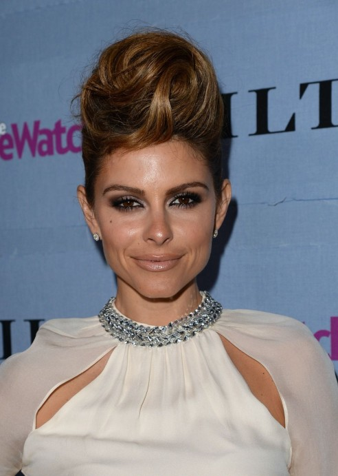 Maria Menounos At People Stylewatch Denim Awards In West Hollywood