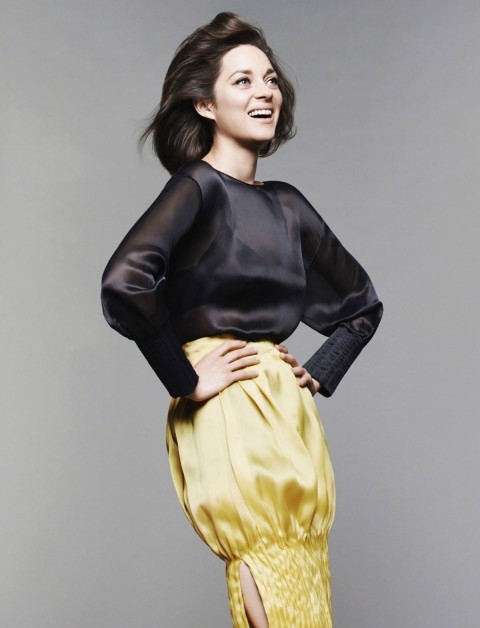 Marion Cotillard By Jan Welters For Madame Figaro Magazine May Issue