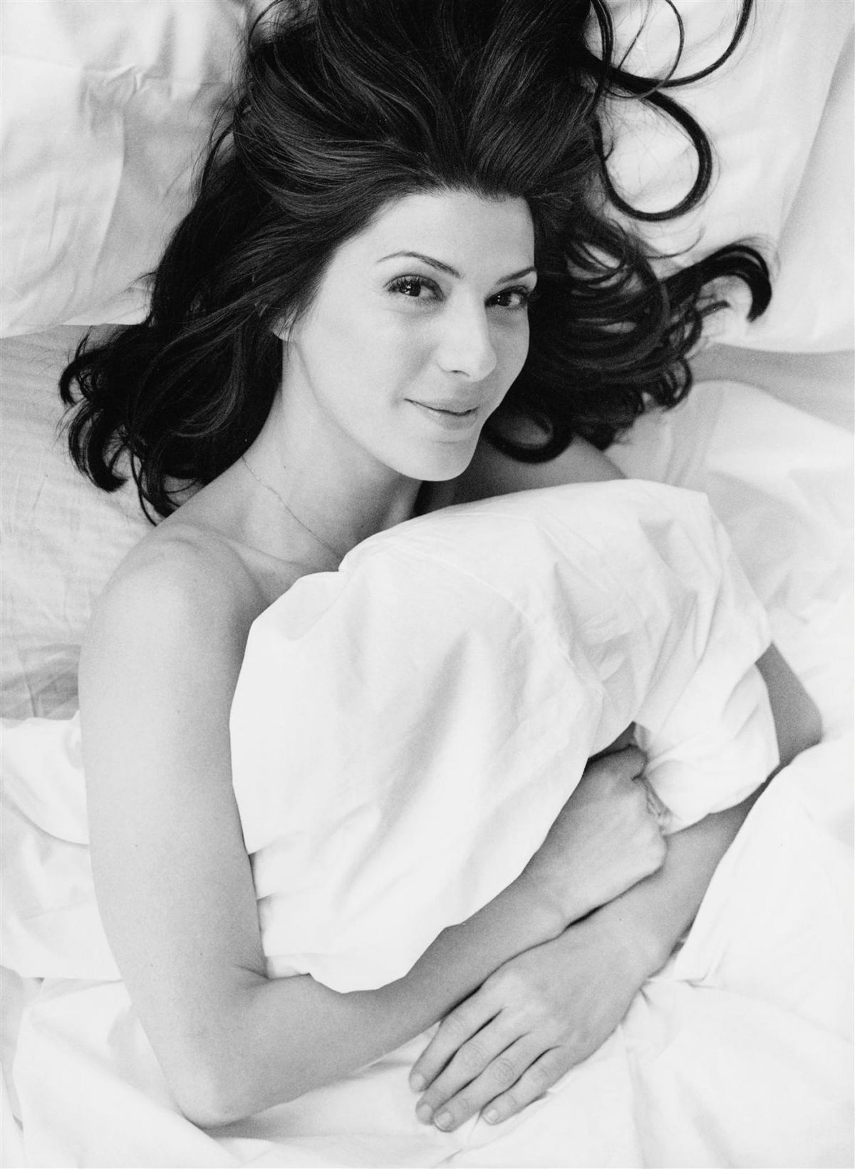 Marisa Tomei At Pamela Hanson Photoshoot