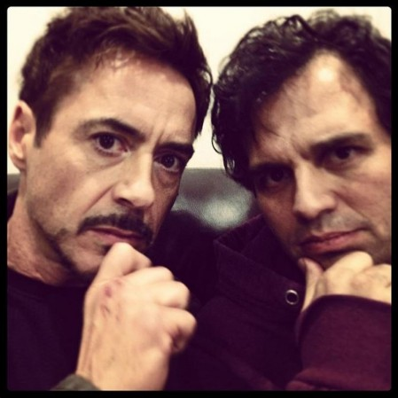 Robert Downey Jr Mark Ruffalo Avengers