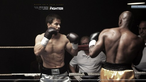Mark Wahlberg Fighing In The Ring In The Fighter The Fighter