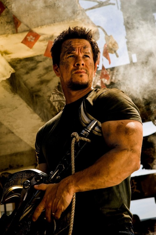 Mark Wahlberg Transformers Muscles