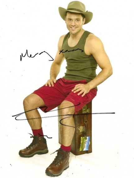 Mark Wright Celeb Get Me Outta Here Signed Photo