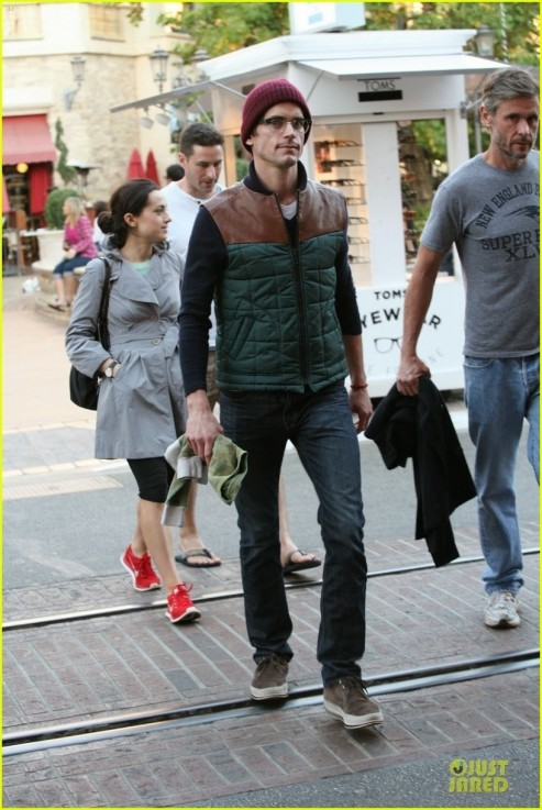 Matt Bomer Simon Halls The Grove Los Angeles Simon Halls