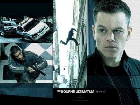 Action Movies Matt Damon The Bourne Ultimatum Movie Stills Wallpaper Movies