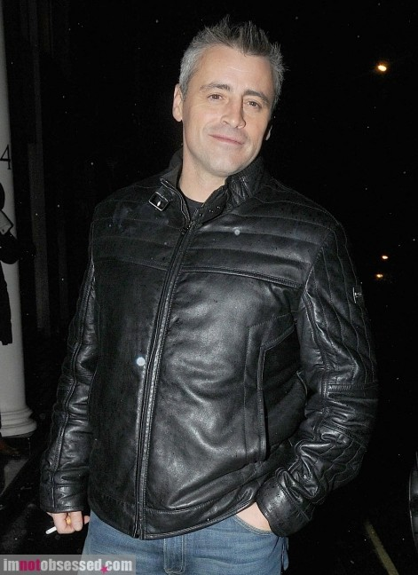 Matt Leblanc Steps Out In London