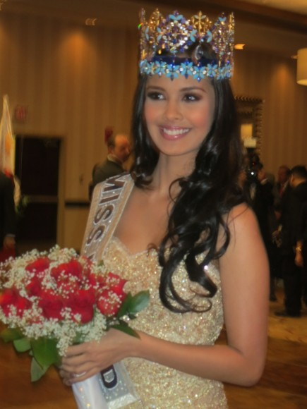 Miss World Megan Young In New York And Los Angeles