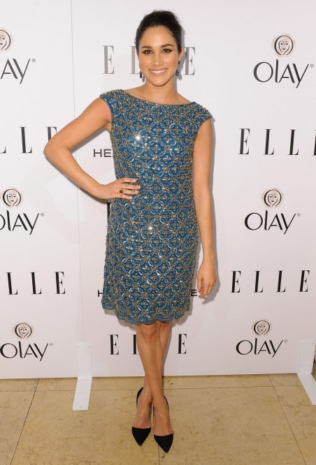 Meghan Markle At Elle Annual Women In Television Celebration