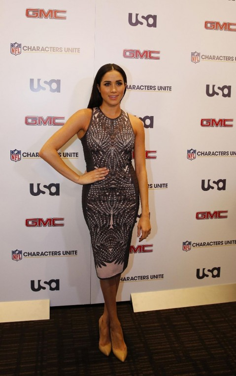 Meghan Markle At Rd Annual Nfl Characters Unite At Sports Illustrated In New York