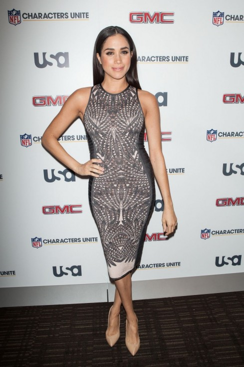Meghan Markle At Rd Annual Nfl Characters Unite At Sports Illustrated In New York Beach