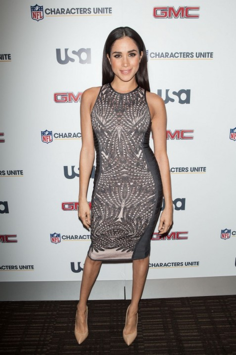 Meghan Markle At Rd Annual Nfl Characters Unite At Sports Illustrated In Nyc Bikini