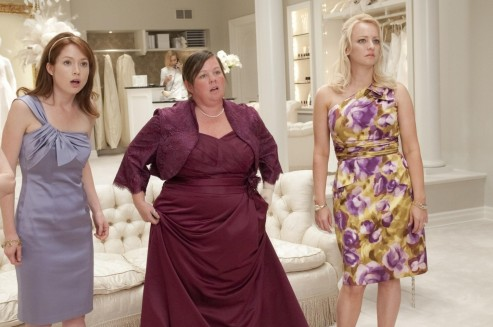 Still Of Melissa Mccarthy Wendi Mclendon Covey And Ellie Kemper In Bridesmaids Bridesmaids