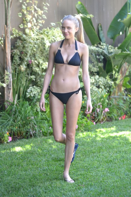 Melissa Ordway In Bikini At Pool Party In San Diego Beach