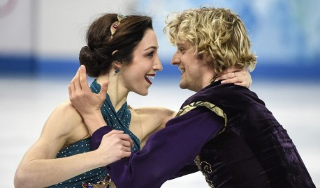 Meryl Davis And Charlie White At Winter Olympics In Sochi