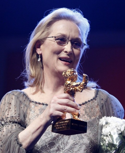Meryl Streep Honoured Golden Bear Award Beach