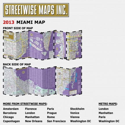 Miami Map Map