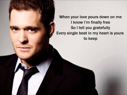 Michael Buble Shared Photo