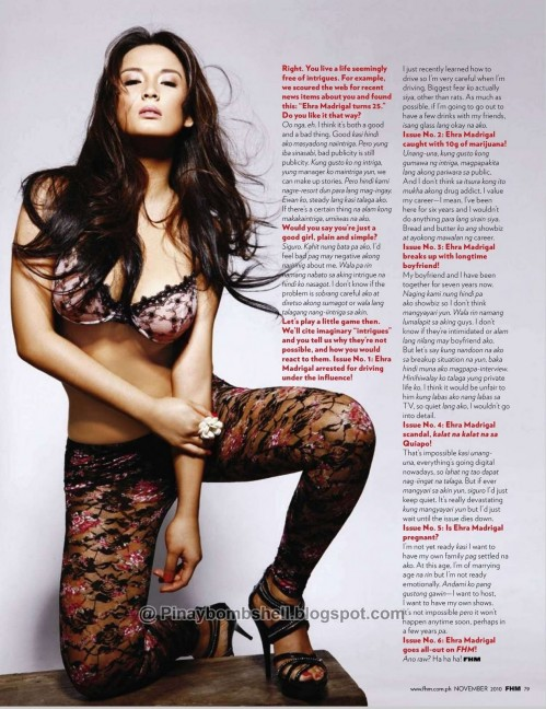Fhm Philippines November Michelle And Ehra Madrigal Page Wtmk