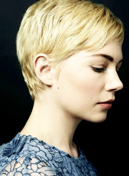 Michelle Williams Pixie Beauty
