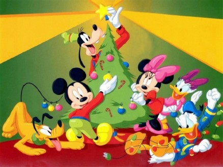 Mickey Mouse Christmas Tree Wallpaper Other