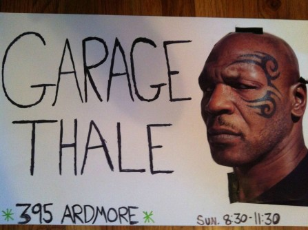 Garage Bthale Bsign Bwith Bmike Btyson Bdr Bheckle Bfunny Bwtf Bpictures Body