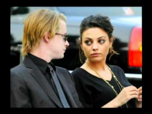 Mila Kunis Macaulay Culkin Split And Macaulay Culkin