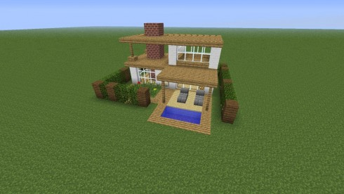 Simple Minecraft House Pvbqpzi Houses