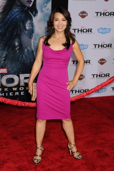 Ming Na Wen At Thor The Dark World Premiere In Hollywood