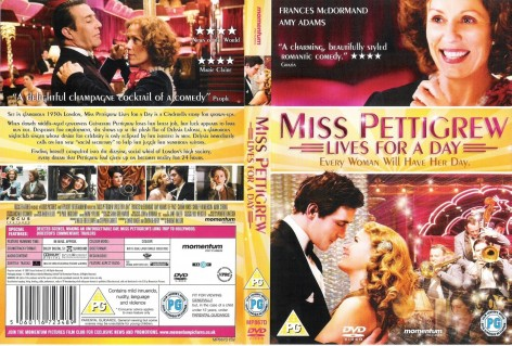 Miss Pettigrew Lives For Day Ws Front Wwwgetdvdcoverscom Movie
