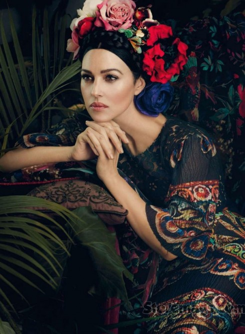 Monica Bellucci By Signe Vilstrup No Makeup