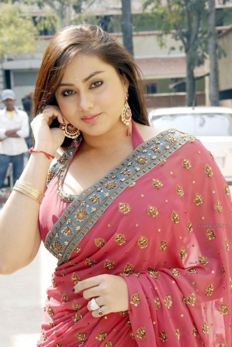 Namitha Kapoor In Red Saree From Love College Movie Movies