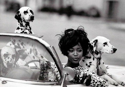 Linbergh Vous Seeing Spots Naomi Campbell