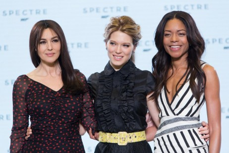 Monica Bellucci Naomie Harris And Seydoux At Event Of Spectre Large Picture