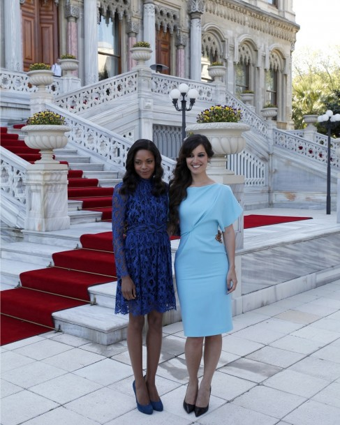 Naomie Harris And Brnice Marlohe Attend Photo Call To Mark The Filming Of Skyfall The Rd James Bond Adventure In Istanbul Turkey It Is The Rd Time In The Year History Of The Film Fr Berenice Marlohe