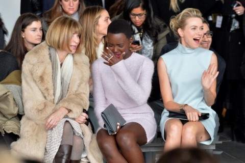 Anna Wintour Lupita Nyong Naomi Watts Fashion