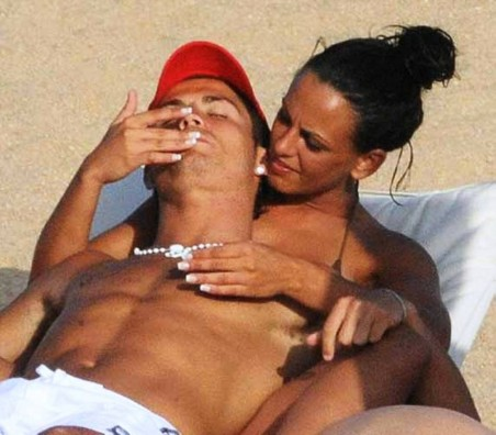 Ronaldo And Nereida Gallardo Lips Cristiano Ronaldo