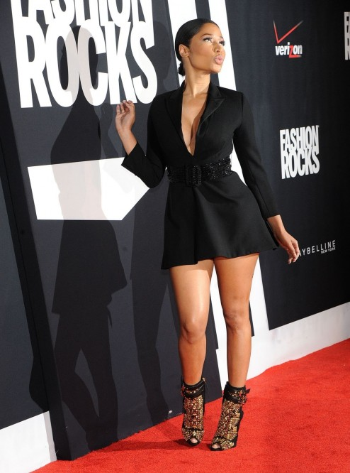 Nicki Minaj At Fashion Rocks In New York Fashion