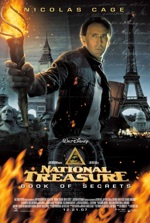 Nicolas Cage National Treasure Book Of Secrets Movies