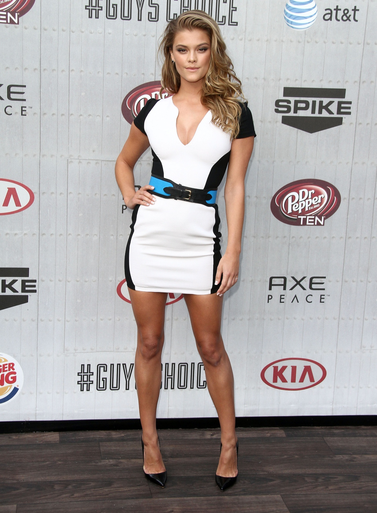 Nina Agdal Ffn Rij Guys Choice Tv