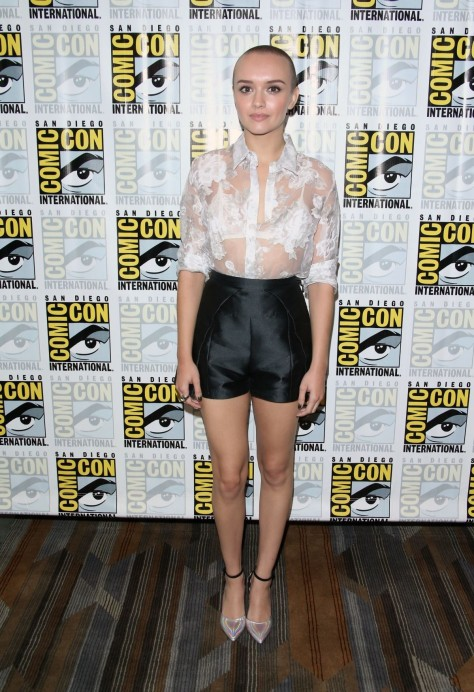 Olivia Cooke At Bates Motel Presentation At Comic Con In San Diego