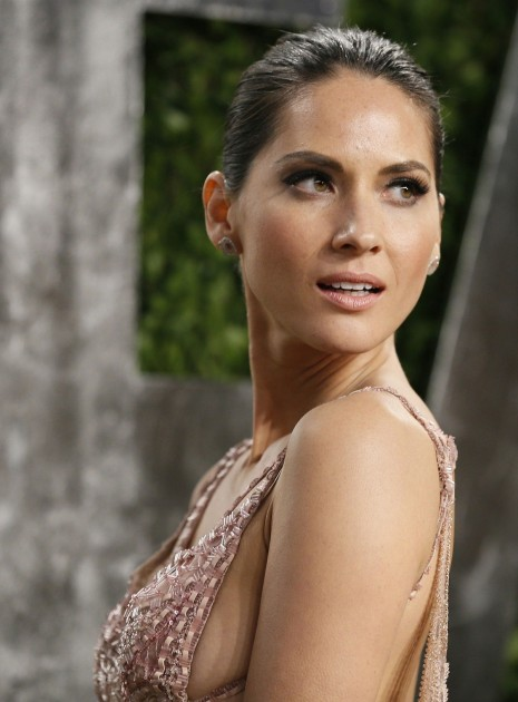 Olivia Munn At Vanity Fair Oscar Party In Hollywood