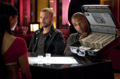 Picture Of Omari Hardwick And Logan Marshall Green In Dark Blue Purity Large Picture